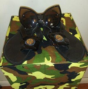 Tory Burch Black Women's Sandals
